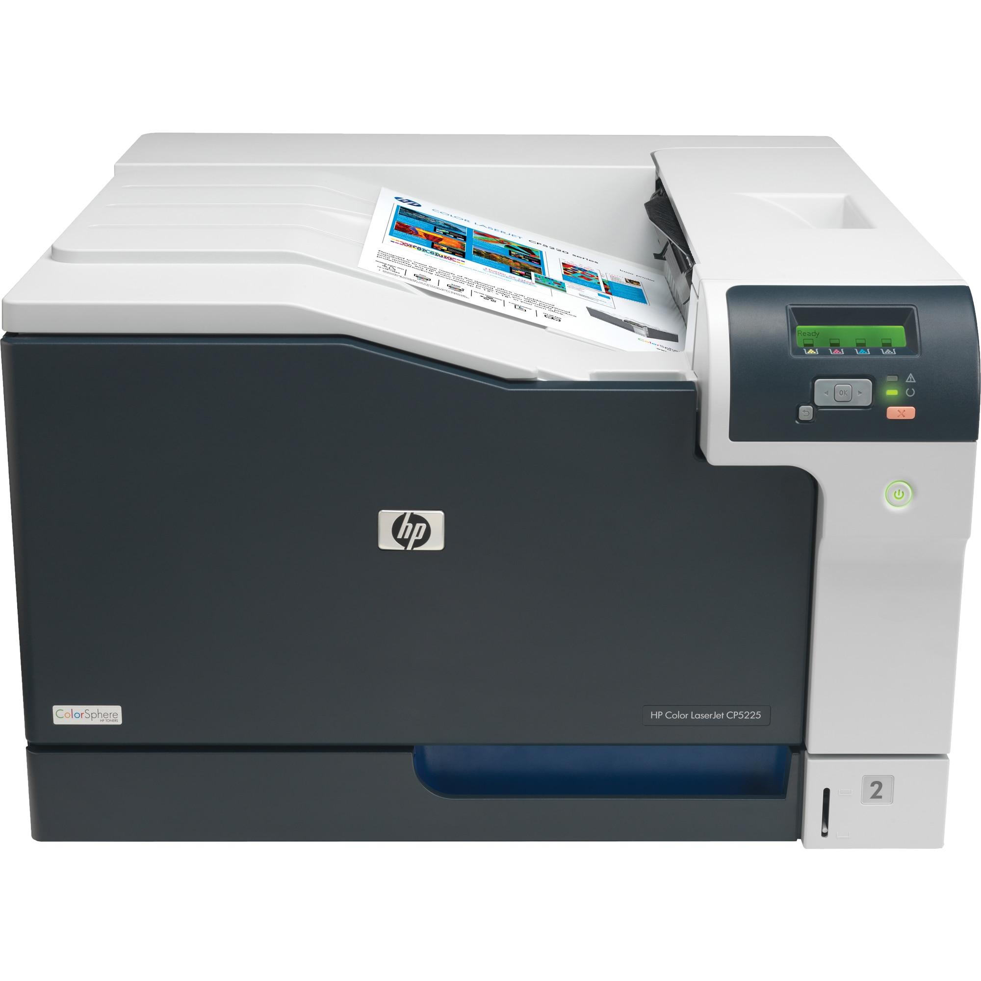 Fotografie Imprimanta laser color HP LaserJet Professional CP5225, A3