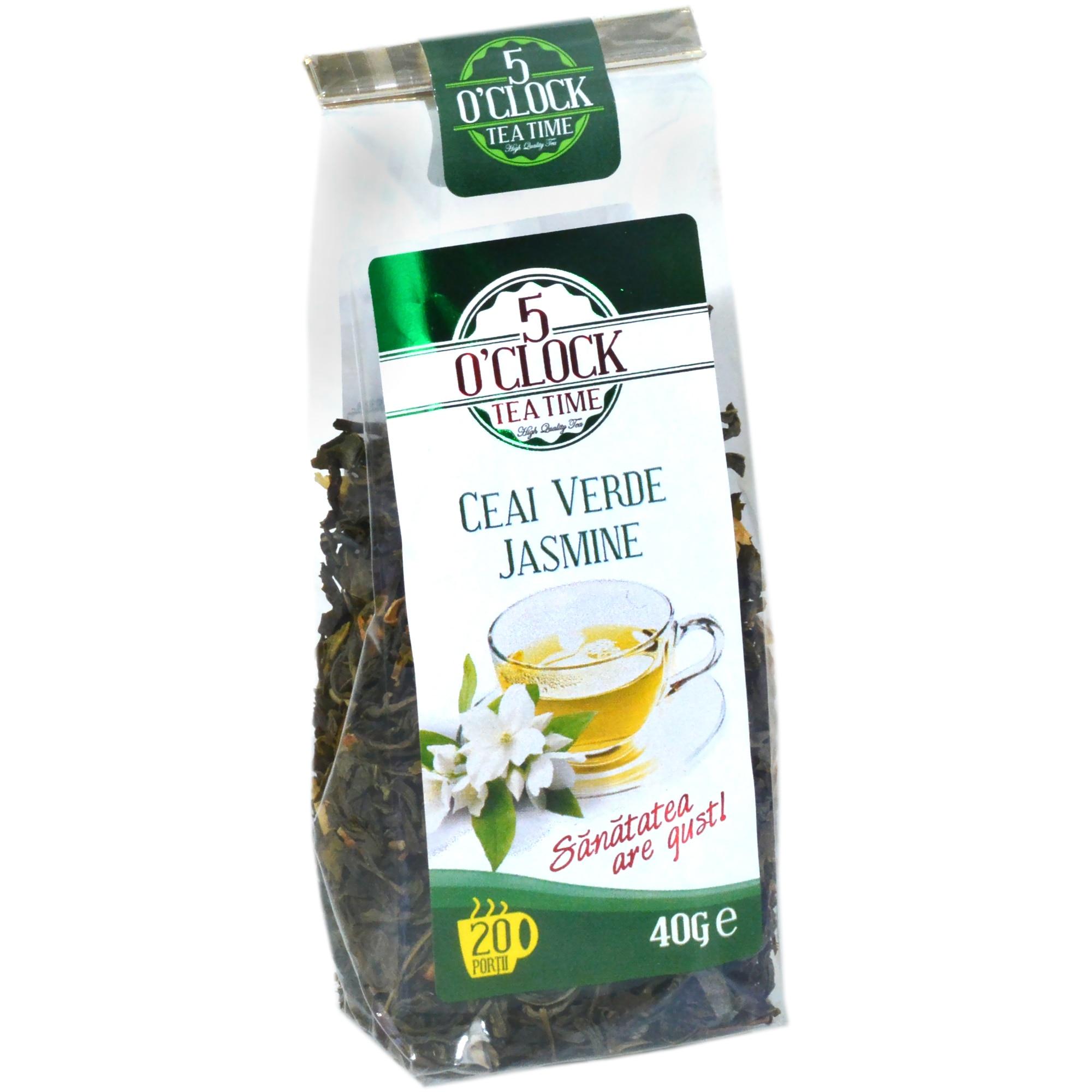 Ceai verde cu Iasomie relaxant vitalizant, plicuri, Nat : Farmacia Tei online