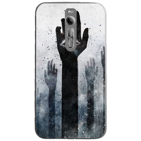 Защитен калъф Guardo Dark Illuminati Hands за ASUS Zenfone 2 Ze551ml
