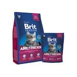 Brit Premium Cat Adult száraz macskaeledel, Csirke, 8 kg