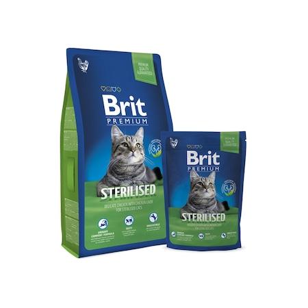 Brit Premium Cat Sterile száraz macskaeledel, 8 kg