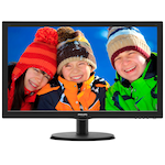 """Монитор LED Philips 21.5"""", Wide, Full HD, HDMI, VGA, Черен, 223V5LHSB"""