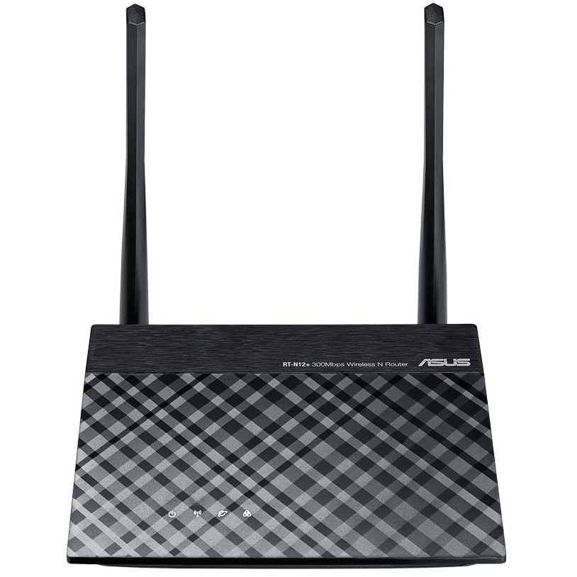 Fotografie Router wireless/Access Point/Range Extender ASUS RT-N12+, 300 Mbps