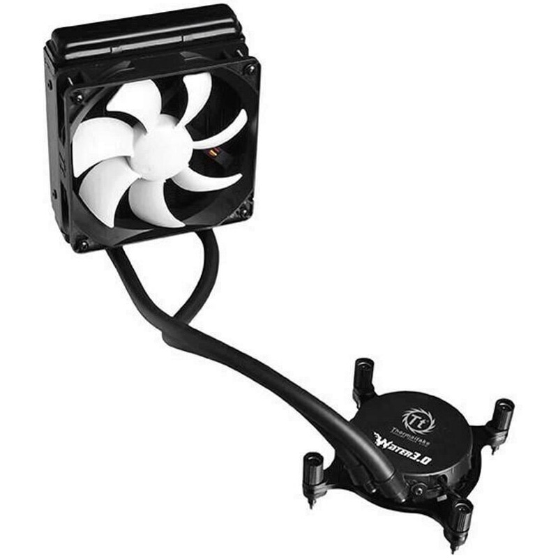 Fotografie Cooler Procesor Thermaltake Water 3.0 Performer C + LNC, compatibil AMD/Intel