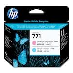 Cap de printare HP CE019A Light Magenta, Light Cyan