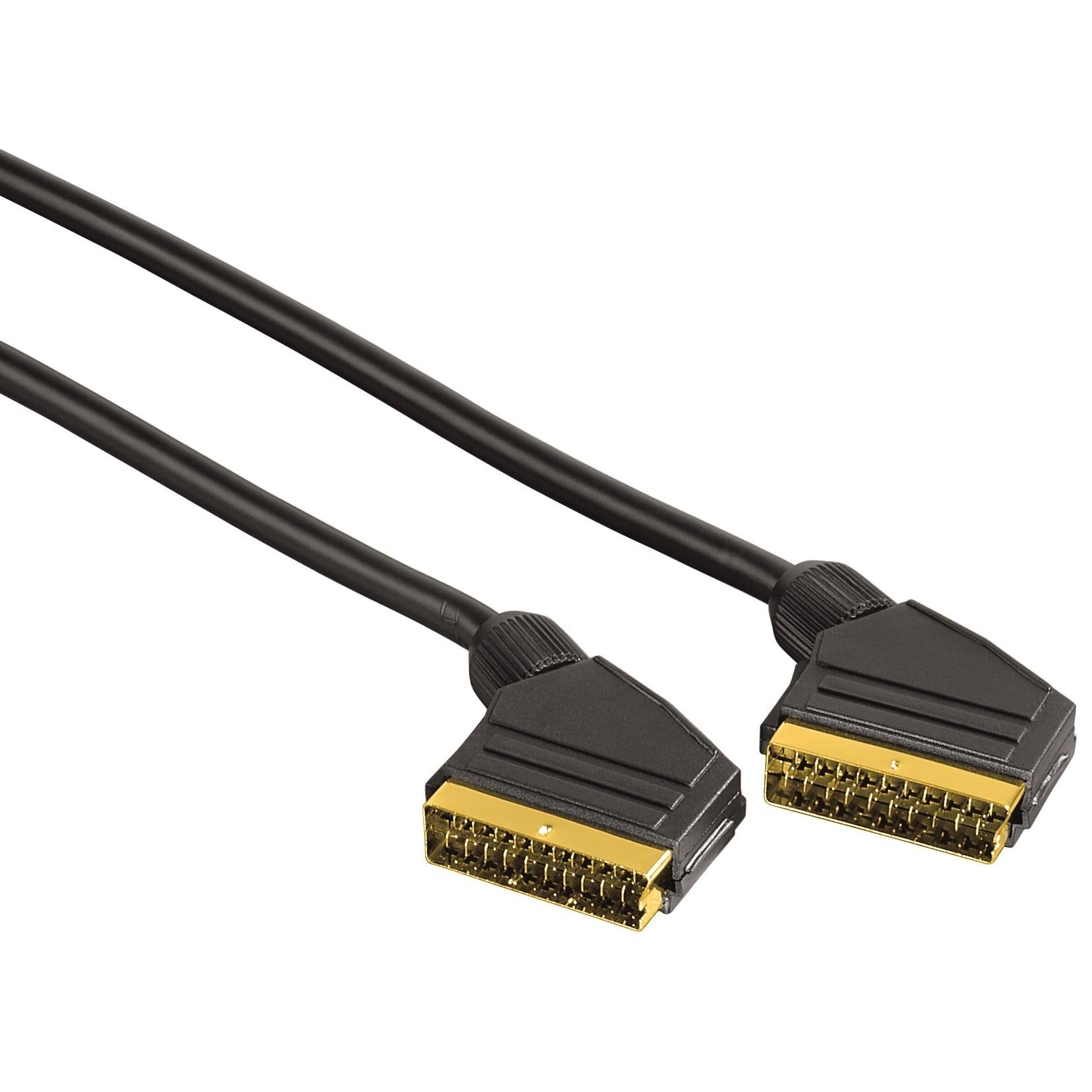 Fotografie Cablu Video Hama Scart male plug - Scart male plug, 3 m