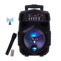 Boxa Bluetooth activa A84, portabila, tip troller, 300 W , microfon inclus Bluetooth, AUX, Radio Fm, USB Selling Depot