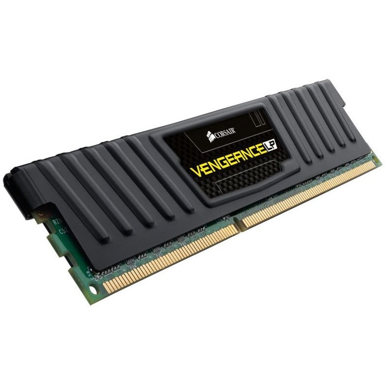 Fotografie Memorie RAM DIMM Corsair Vengeance LP 8GB (1x8GB), DDR3 1600MHz, CL10, 1.5V, Black, XMP
