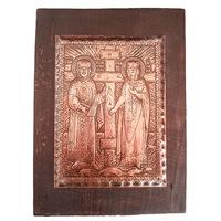 Медна Икона Свети Свети Константин и Елена Орешак