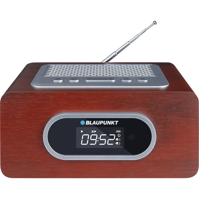 Fotografie Radioceas portabil Blaupunkt PP6BR, SD, USB, AUX, alarma, maro