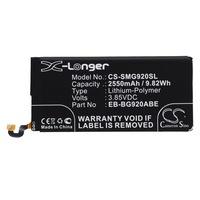 Samsung EB-BG920ABE, GH43-04413A, GH43-04413B 3.85V 2550mAh utángyártott akku Li-Polymer