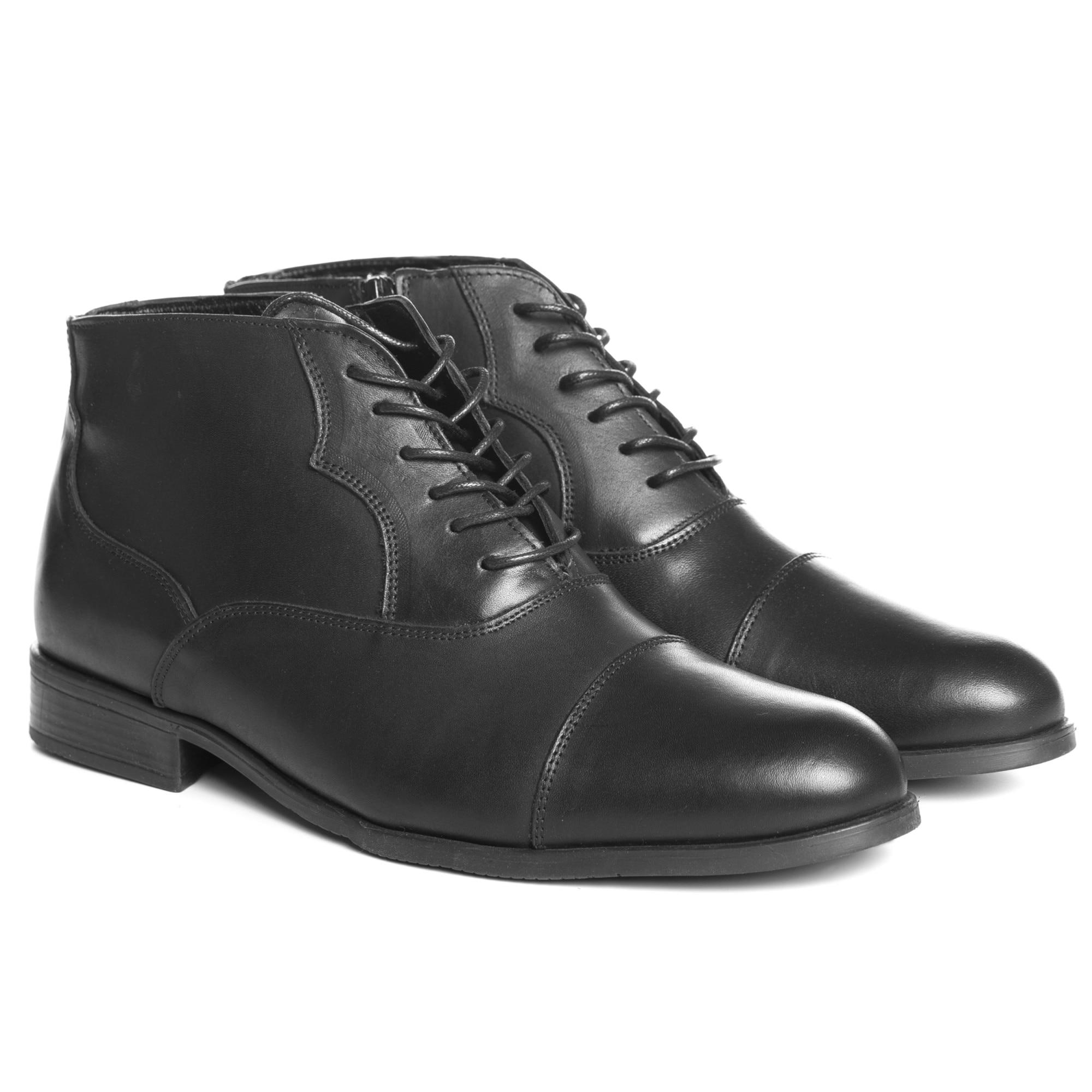 Barna színű, természetes bőrből készült casual férfi cipő