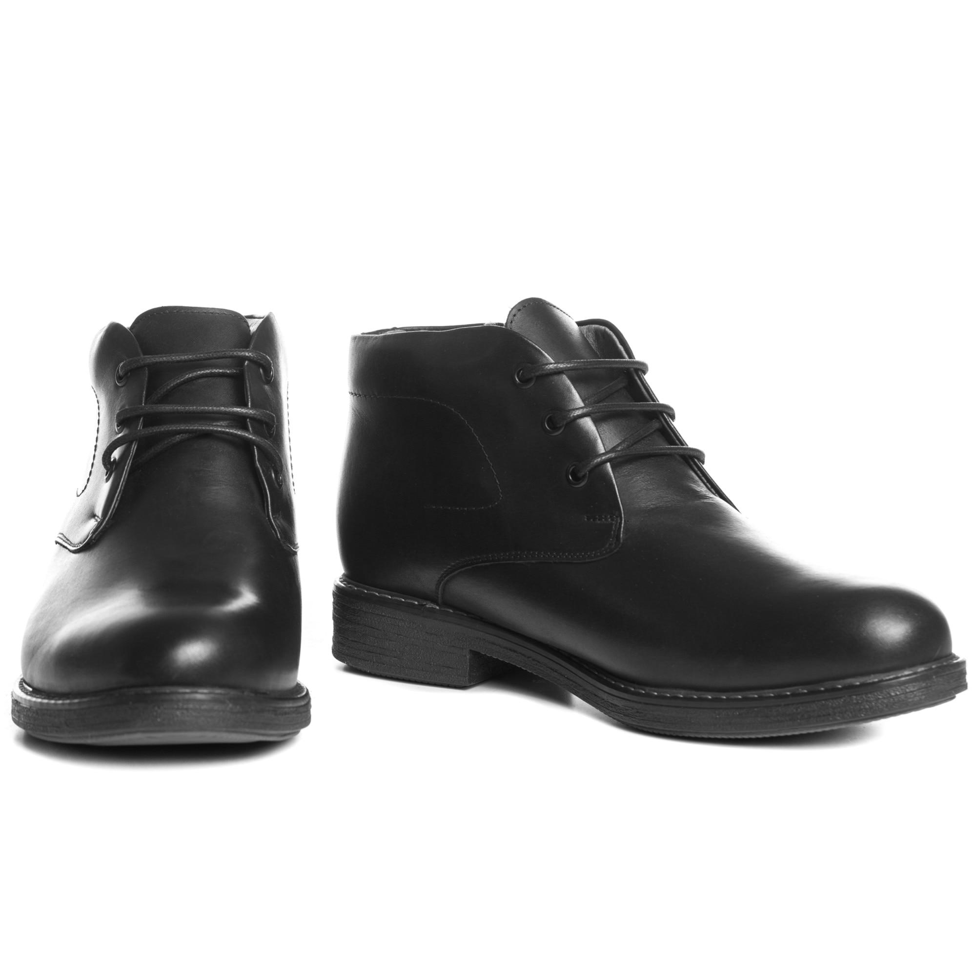 Fekete Férfi Elegáns Inocencio Csizma Fashionzona 704828