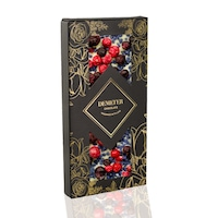 DEMETER CHOCOLATE Fehércsokoládé ibolyával, pirosribizlivel és feketeribizlivel