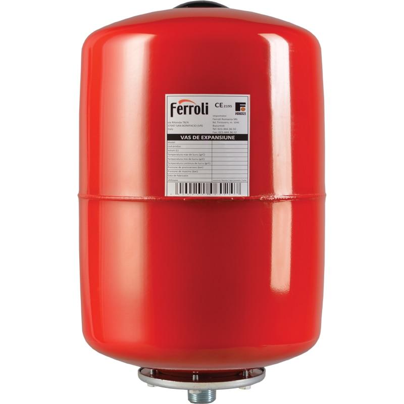 Fotografie Vas de expansiune vertical Ferroli VEF 12, 12 litri, 10 bar