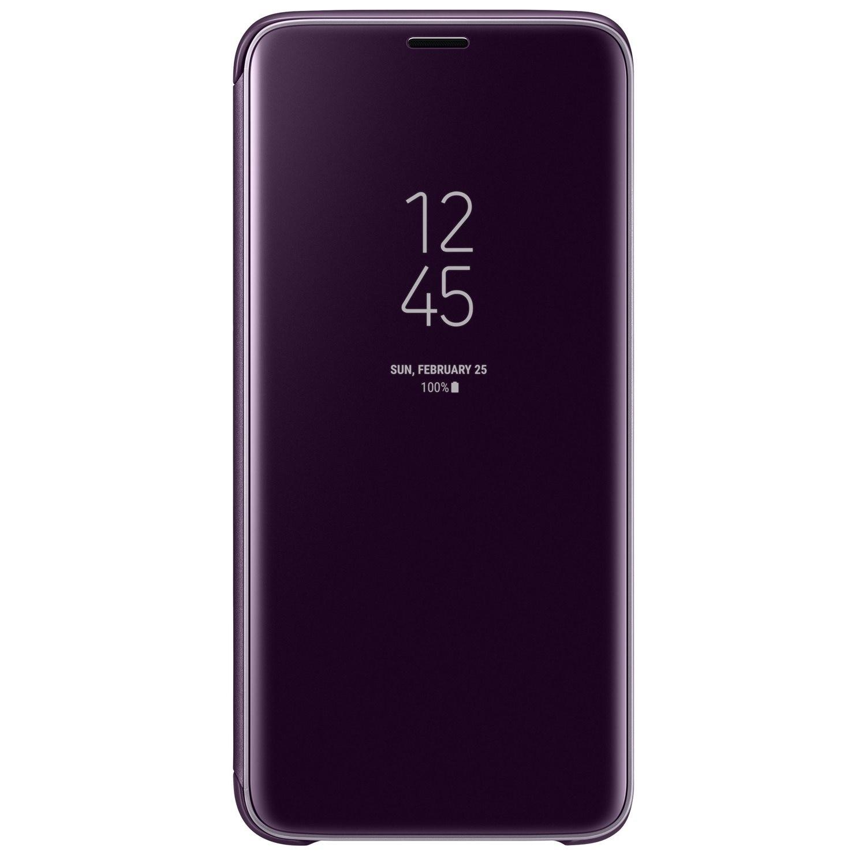 Fotografie Husa de protectie Samsung Clear View Standing pentru Galaxy S9, Purple