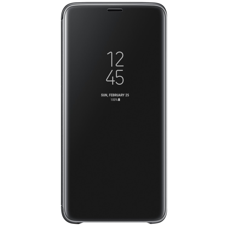 Fotografie Husa de protectie Samsung Clear View Standing pentru Galaxy S9 Plus, Black