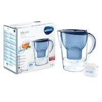 Cana filtrare apa Brita Marella XL, 3.5 l, Albastra + filtru Brita