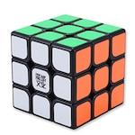 Cub Rubik Profesional MoYu Aolong V2 Original cu Sigiliu Holograma pentru speedcubing detine Recordul Mondial de Viteza 3x3x3 Negru