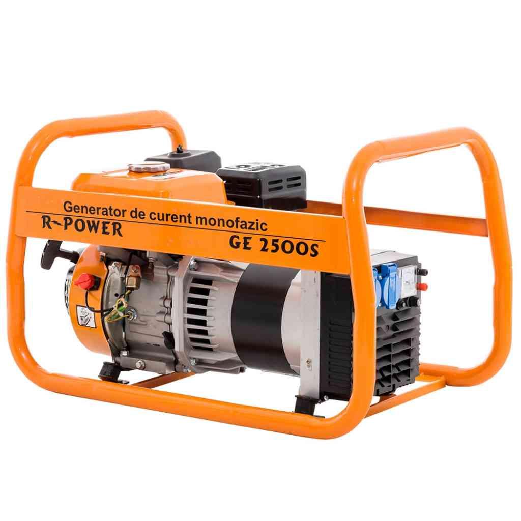 Fotografie Generator Ruris R-Power GE 2500, 2500 W, 7 CP, 4 timpi, benzina