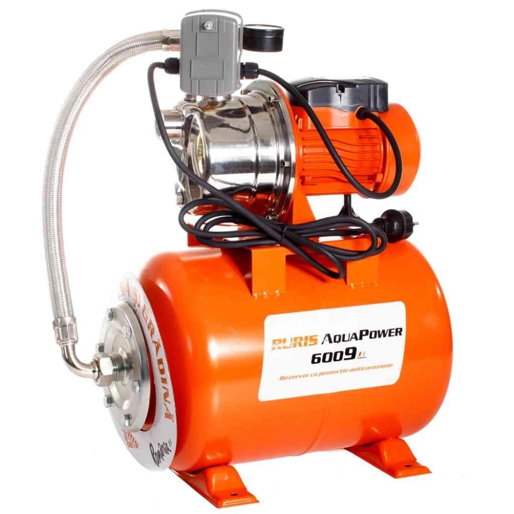 Fotografie Hidrofor Ruris Aquapower 6009, 880W, 46l/min, rezervor 24 L