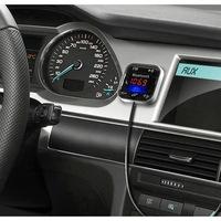 HOME FMBT 104 Mobiltelefon kihangosító és Bluetooth FM modulátor (transzmitter), 5 in 1
