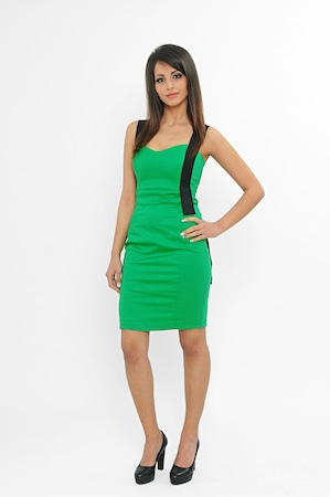 Дамска рокля MARYETT Carmen, Зелен