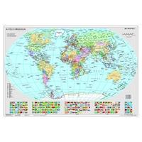 """Könyökalátét, kétoldalas, STIEFEL """"Föld országai/Gyermek-világtérkép"""""""