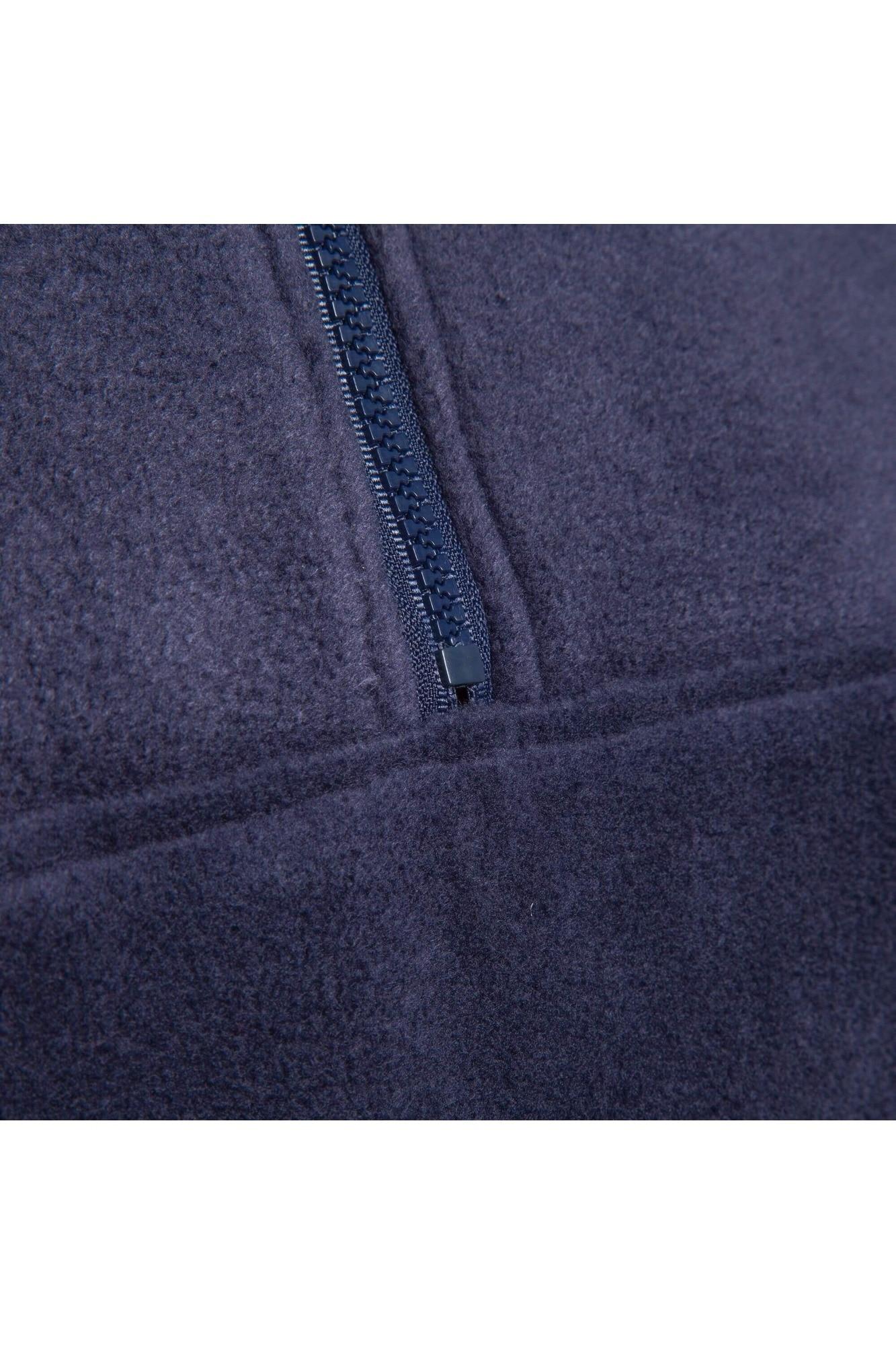 prețuri mai mici noi stil clasic produse calde Pulover fleece cu fermoar Fence, barbati, cu captuseala rosie la guler,  Bleumarin - eMAG.ro