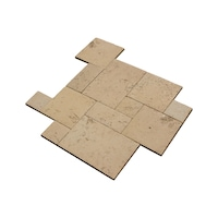 Dale pavaj modular cu textura de travertin - Arvore,Star Stone, din piatra compozita, modul francez