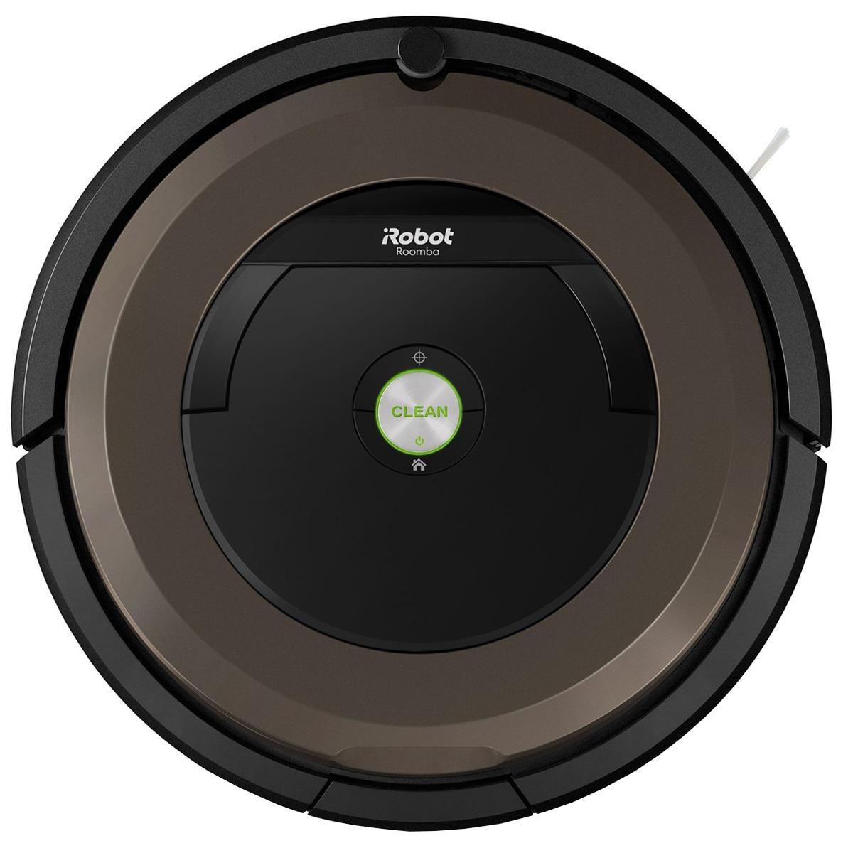 Fotografie Robot aspirator iRobot Roomba 896, Navigatie iAdapt, Wi-Fi, app iRobot HOME, AeroForce, detectare acustica si optica a murdariei, sistem Anti-incalcire, Maro