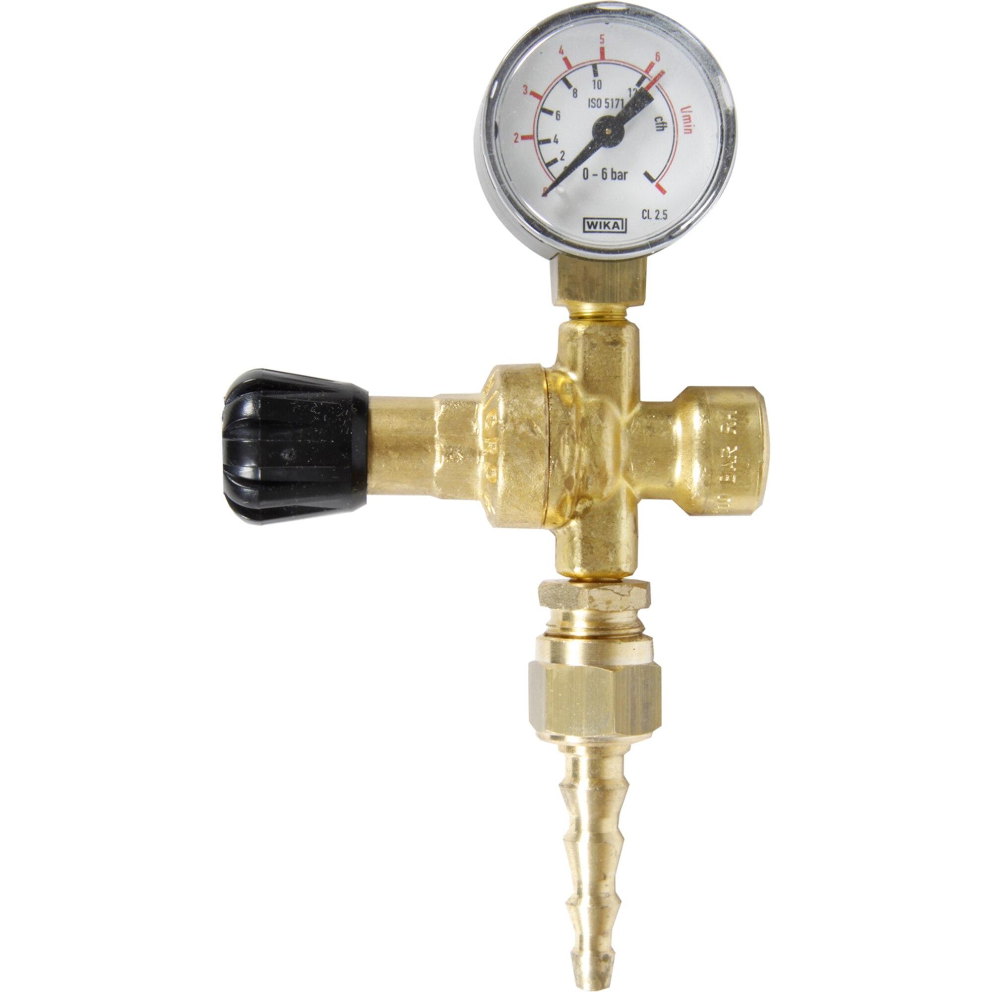 Fotografie Reductor de presiune gaz inert cu 1 manometru Einhell, pana la 190 bar