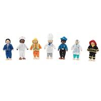 Babákkal foglalkozások Professional Dolls Set Kidkraft