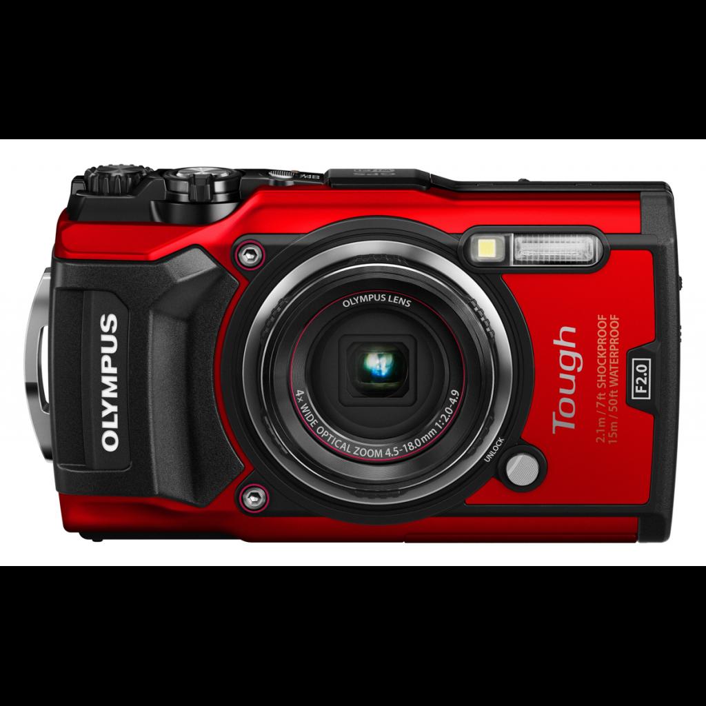 Fotografie Aparat foto Olympus Tough TG-5, Waterproof, Rosu