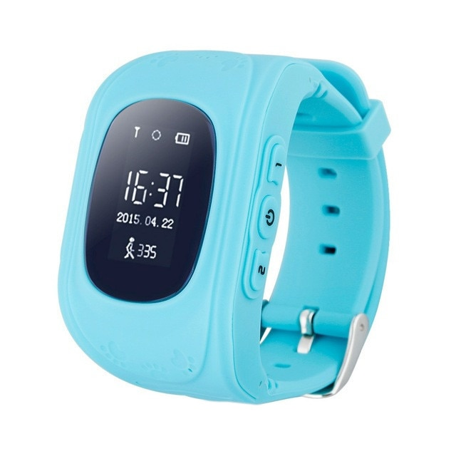 Fotografie Ceas smartwatch copii Wonlex Q50, GPS, Functie telefon, SIM prepay cadou, Albastru