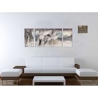 Картинa пано DualView Startonight Птици, 3 части, светлина в тъмнотo, 40 x 100 см