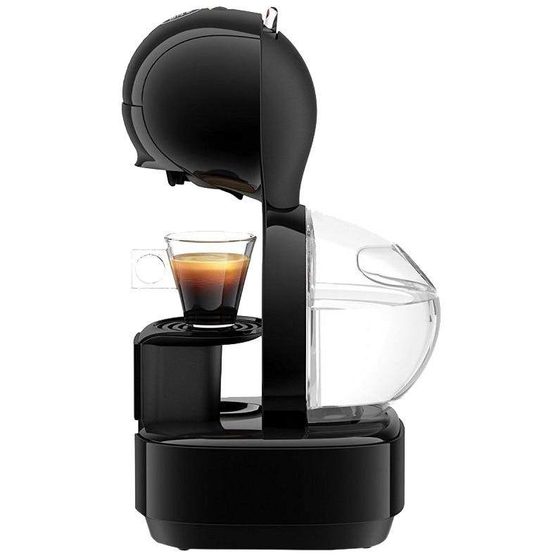 Fotografie Espressor Krups Nescafe Dolce Gusto Lumio KP130831, 1600W, 15 bari, capacitate rezervor apa 1L, oprire automata a curgerii bauturii, Negru
