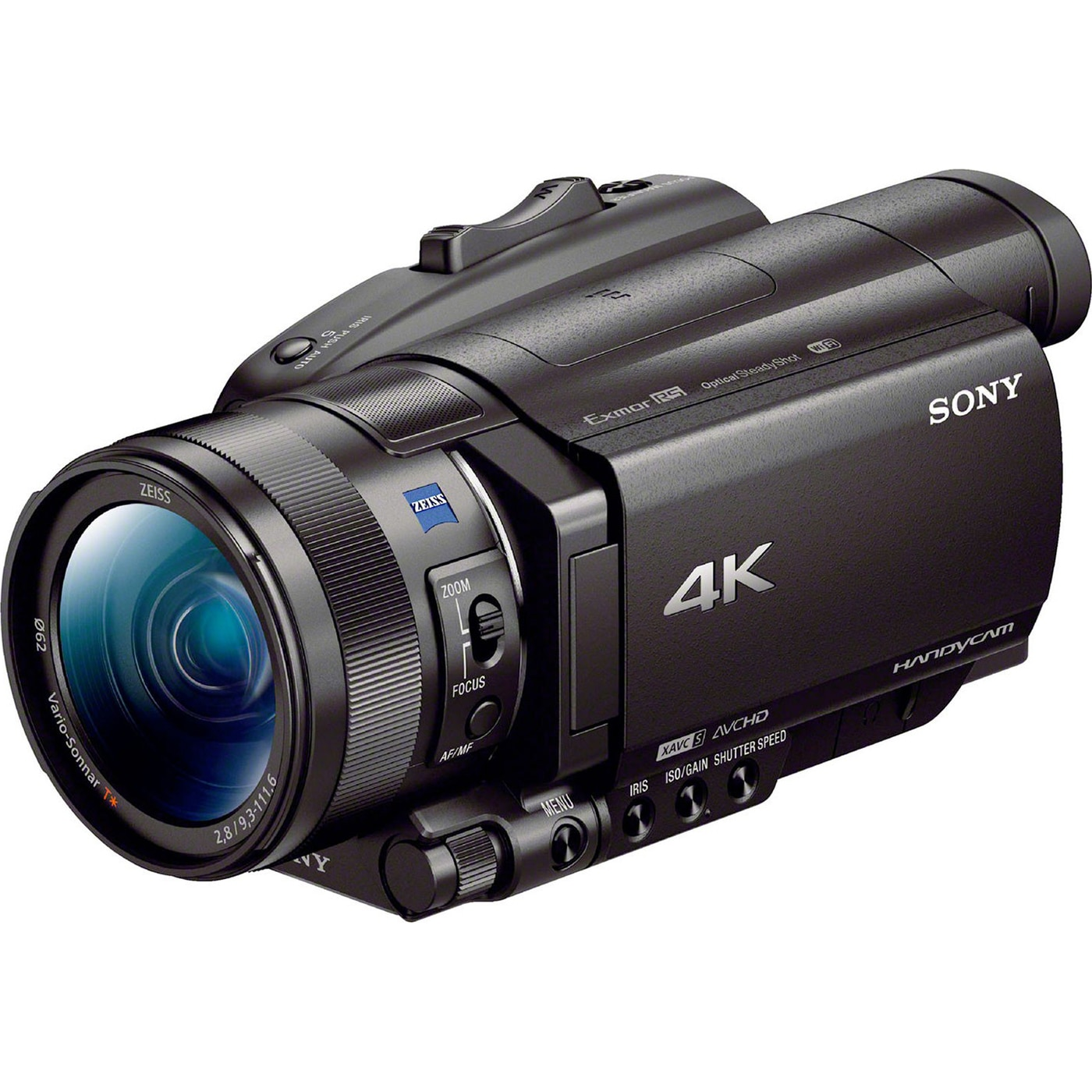 Fotografie Camera video Sony Handycam FDR-AX700, 4K HDR(HLG), Negru