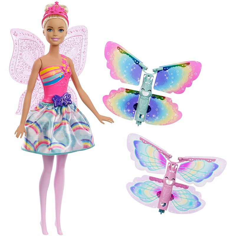 Fotografie Papusa Barbie Dreamtopia, Zana zburatoare