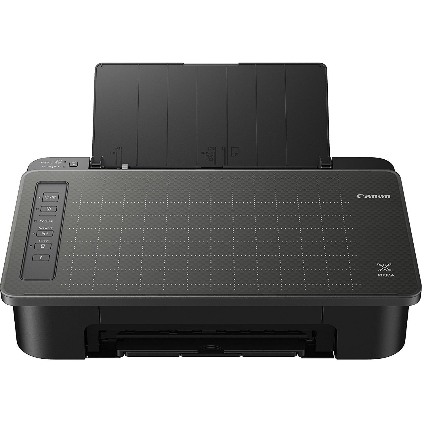 Fotografie Imprimanta inkjet color Canon PIXMA TS305, A4, Negru