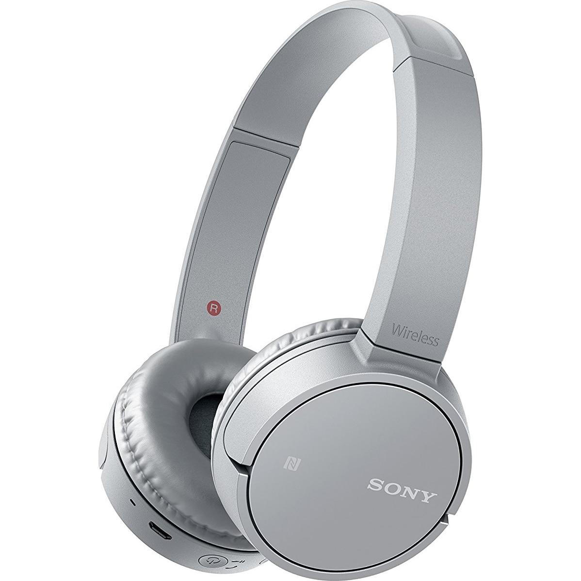 Fotografie Casti audio Sony WH-CH500H, Wireless, Bluetooth, NFC, Gri