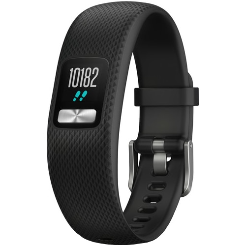 Fotografie Bratara fitness Garmin Vivofit 4, Small/Medium, Negru