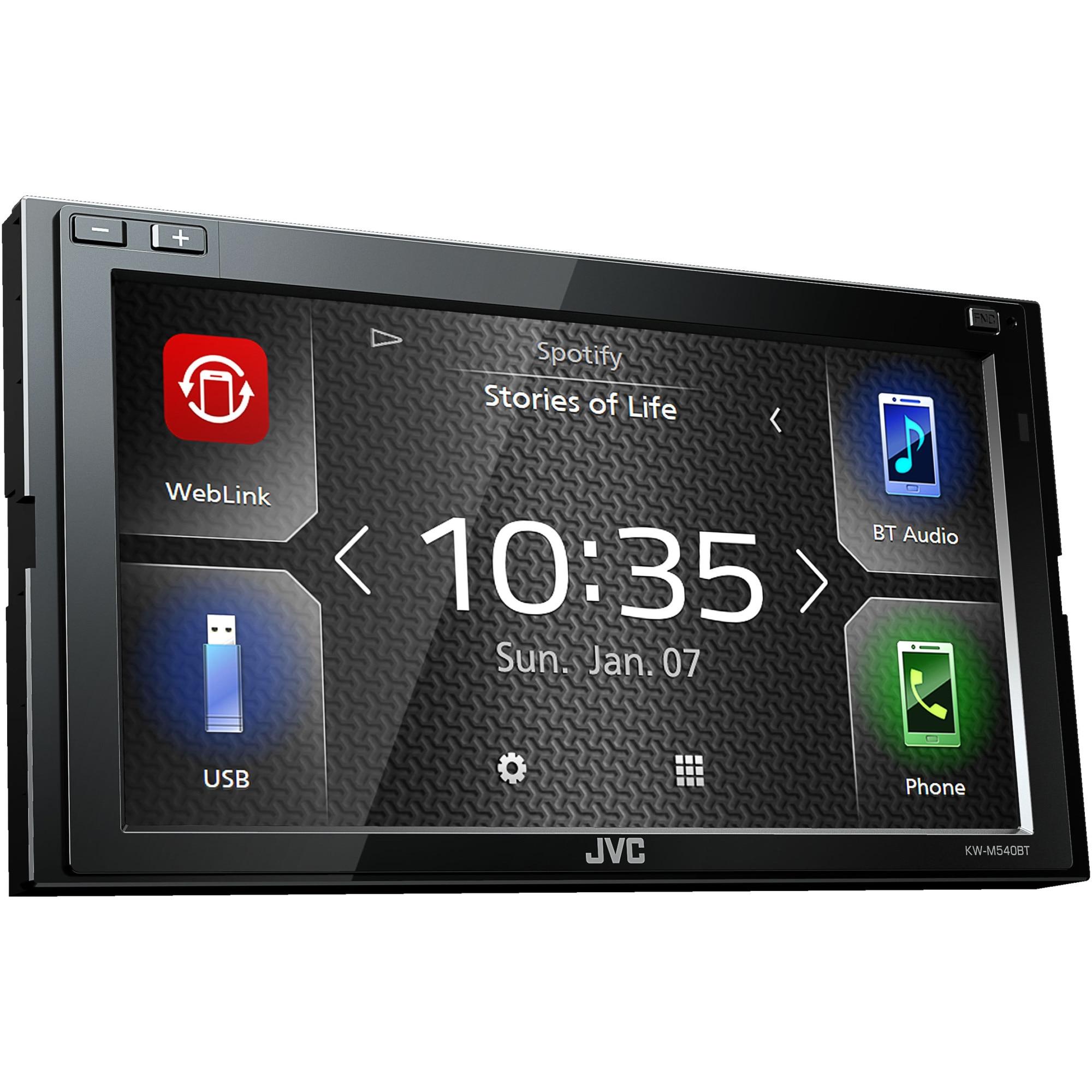 Fotografie Multimedia Player auto JVC KW-M540BT, 6.8 inch, Bluetooth, WEBLINK