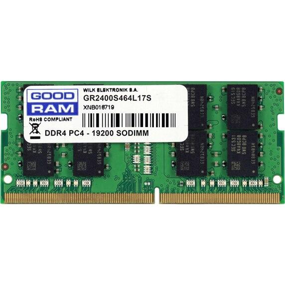 Fotografie Memorie notebook Goodram 4GB DDR4, 2400 MHz, CL 17