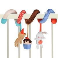 Активна Спирала за Креватче My Sweet Rabbit, Eurekakids, 3 играчки