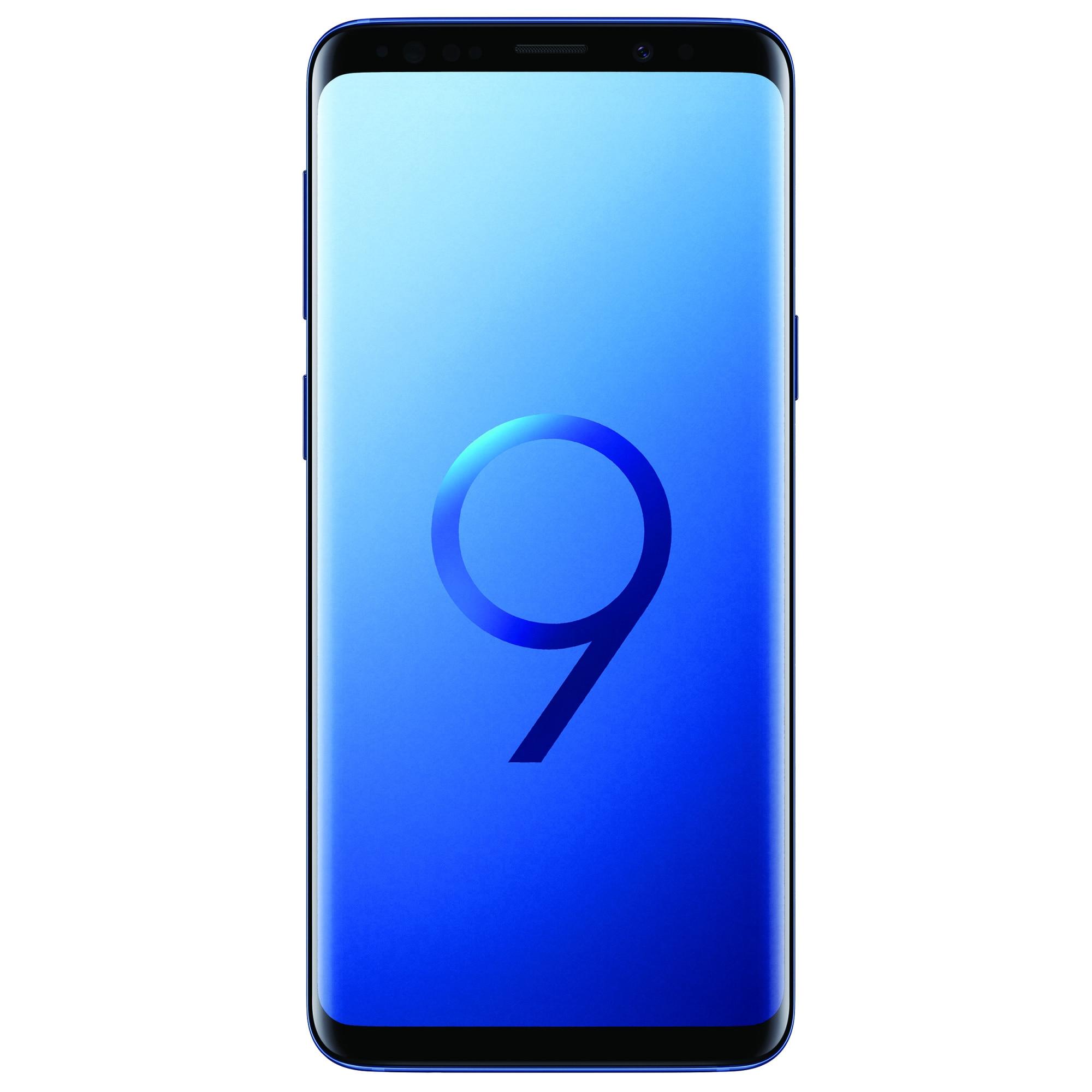 Fotografie Telefon mobil Samsung Galaxy S9, Dual SIM, 64GB, 4G, Blue
