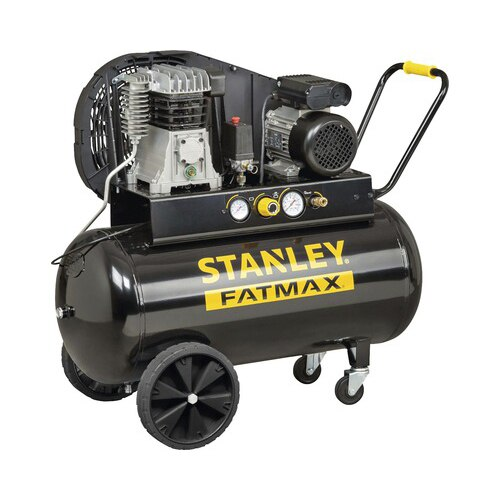 Fotografie Compresor aer profesional Stanley B350, 2200W, 3CP, butelie 100L, debit maxim 330l/min