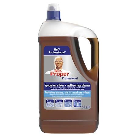 Универсален почистващ препарат Mr. Proper Professional Delicate, 5 л