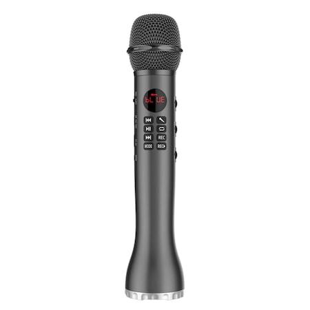 Караоке микрофон с вграден високоговорител L-598, Bluetooth, 9W