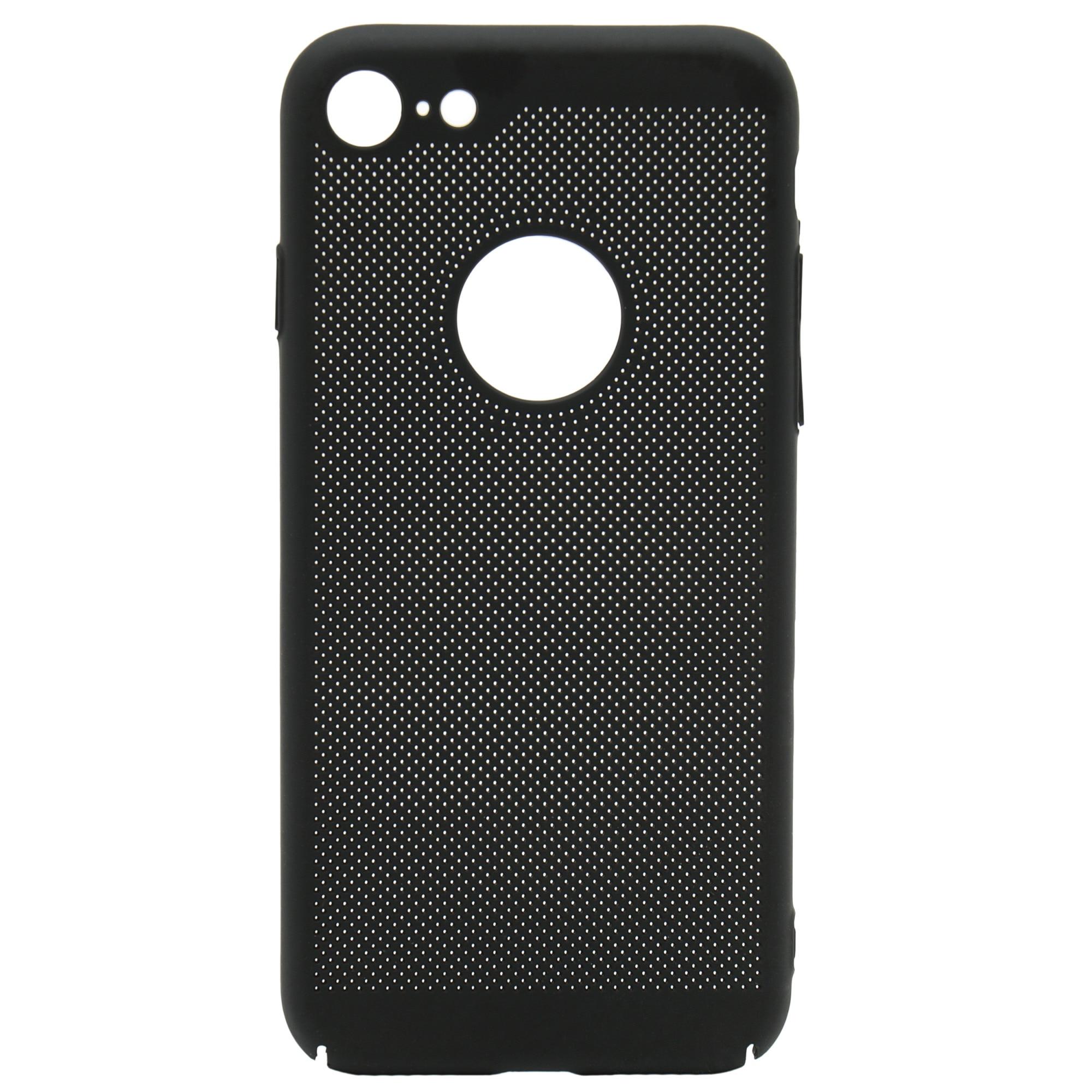 Fotografie Husa de protectie A+, Rubber pentru iPhone 8, Negru
